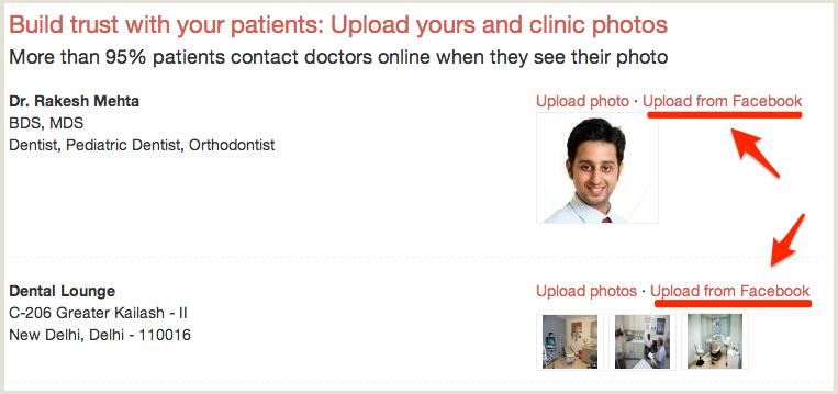 Upload Clinic Photos