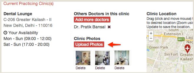 Manage Clinic Photos