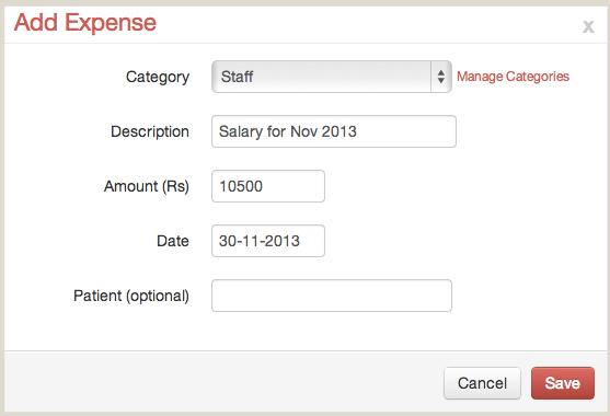 Add Expense