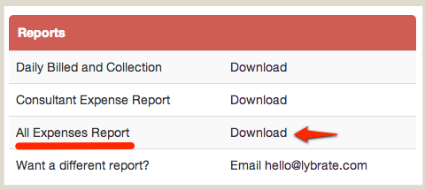 Download Expenses Report
