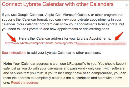 Lybrate Calendar address