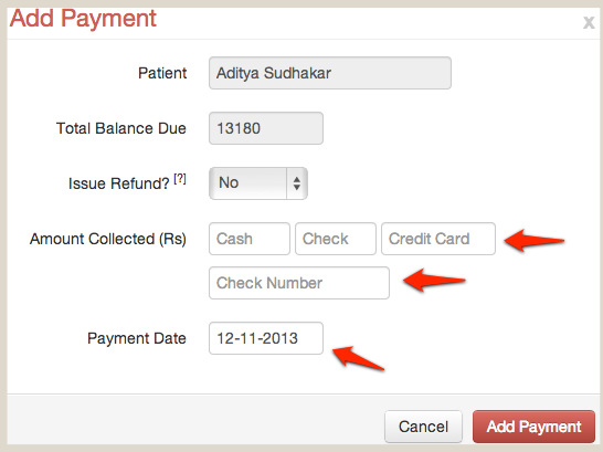 Improved Add Payment