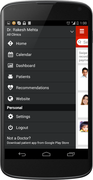 Manage your practice with Lybrate mobile app for Doctors